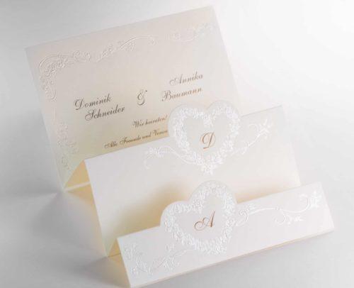 Hochzeitskarte Riccarda 02
