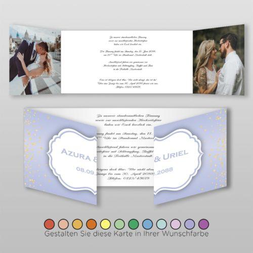 Hochzeitskarte Ronja D-6S