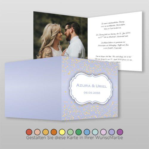 Hochzeitskarte Ronja Q-4S