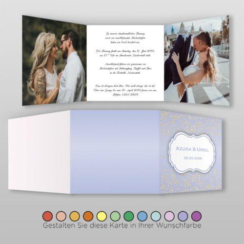 Hochzeitskarte Ronja Q-6S