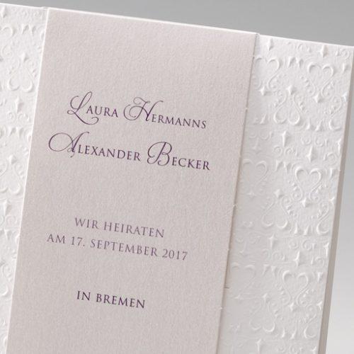 Hochzeitskarte Rosana 02