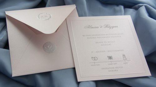 Hochzeitskarte Safiya