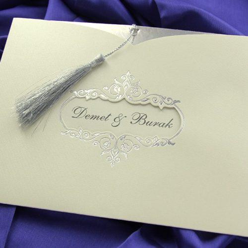 Hochzeitskarte Sapphire
