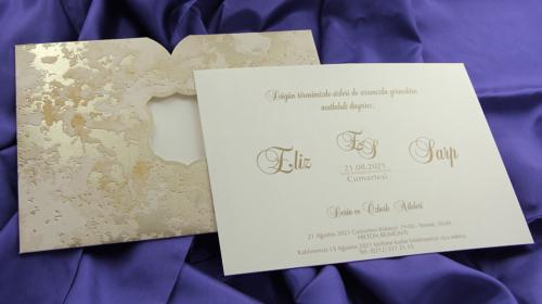 Hochzeitskarte Sarita 2