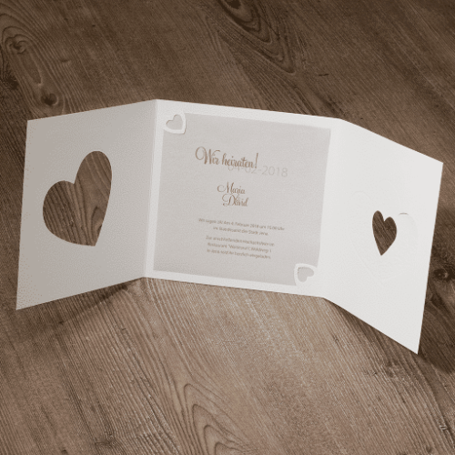 Hochzeitskarte Savanna 02