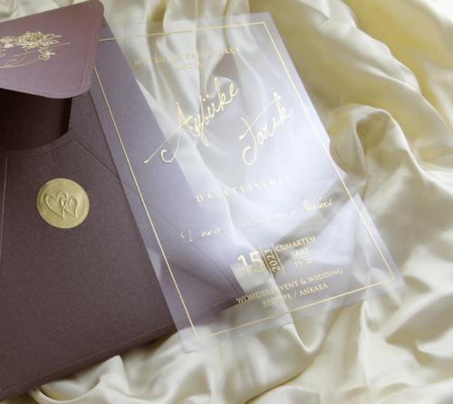 Hochzeitskarte Savina 3