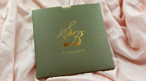 Hochzeitskarte Sella