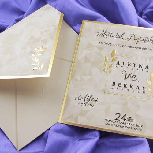 Hochzeitskarte Serene