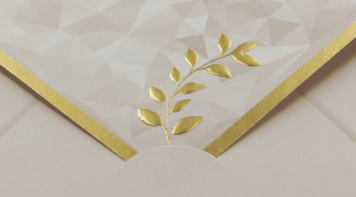 Hochzeitskarte Serene 2
