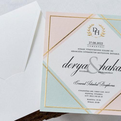 Hochzeitskarte Shara