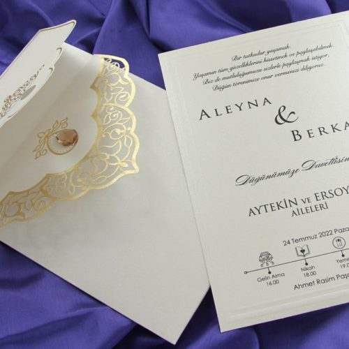 Hochzeitskarte Sharyl