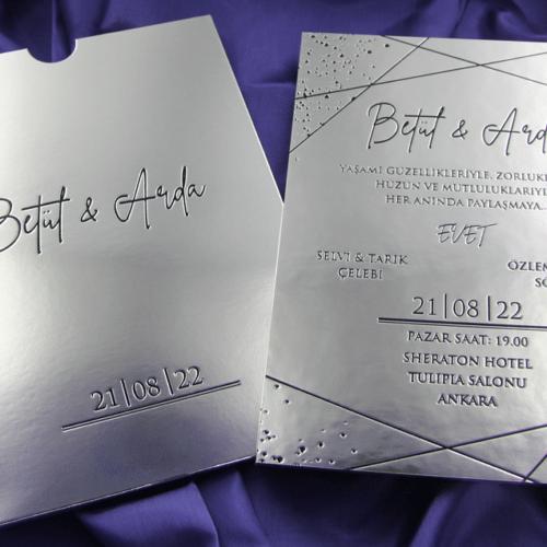 Hochzeitskarte Sidonia 2