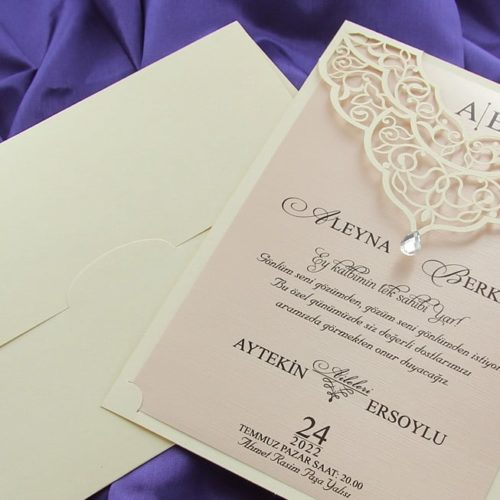 Hochzeitskarte Skyler