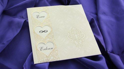Hochzeitskarte Suleika