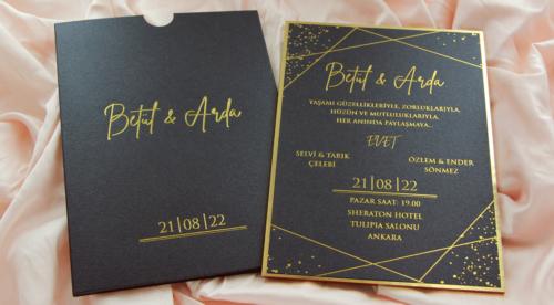 Hochzeitskarte Sunshine