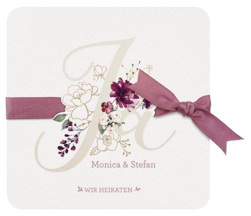 Hochzeitskarte Syama 01