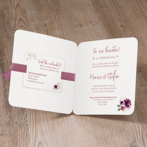Hochzeitskarte Syama 02
