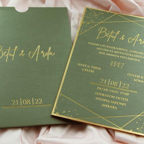Hochzeitskarte Syna 3