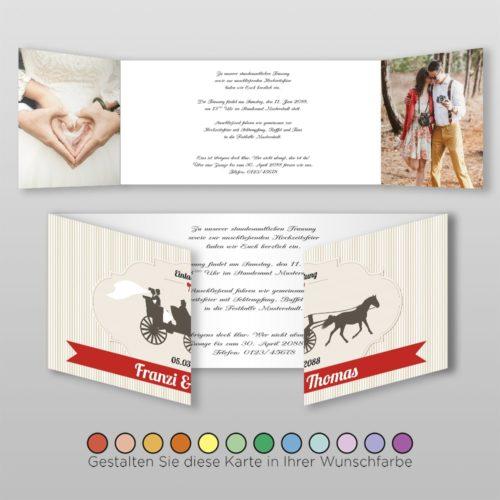 Hochzeitskarte Tanja D-6S