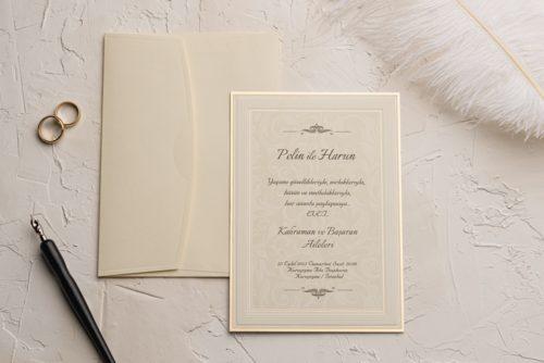 Hochzeitskarte Wilda