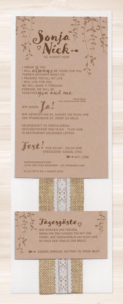 Hochzeitskarte Yaffe 02