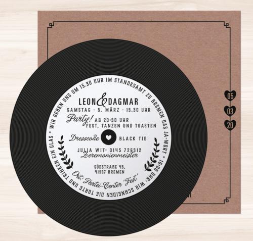 Hochzeitskarte Yakira 02