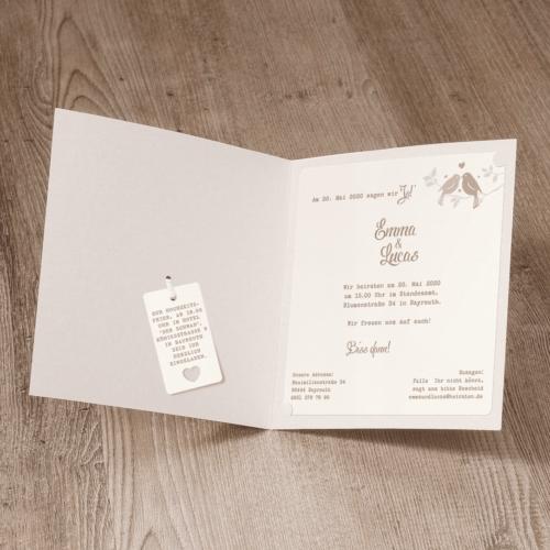 Hochzeitskarte Yalonda 02