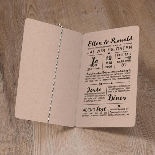 Hochzeitskarte Yarkona 02