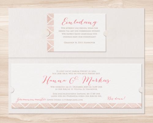 Hochzeitskarte Yoana 02