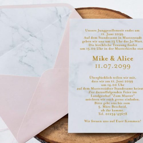 Hochzeitskarte Zana 01