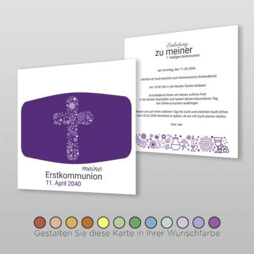 Kommunionskarte Felicie Q_2S