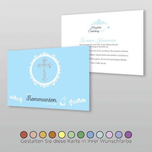 Konfirmationskarte Marcellina A6q-2S