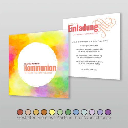 Kommunionskarte Josey Q_2S