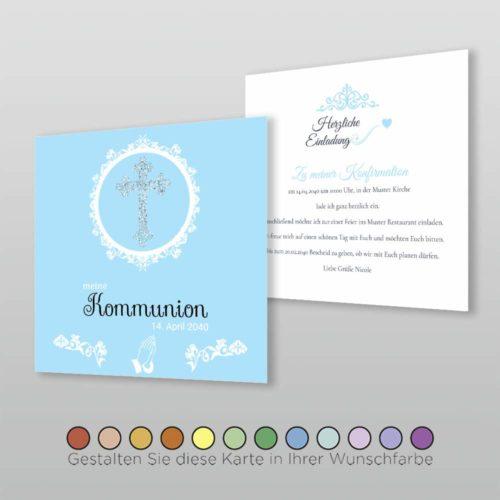 Konfirmationskarte Marcellina Q_2S