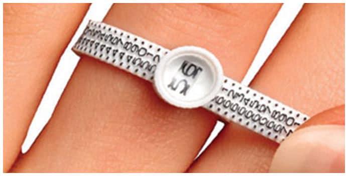 Fordern Sie kostenlos ein Ringmaßband an!