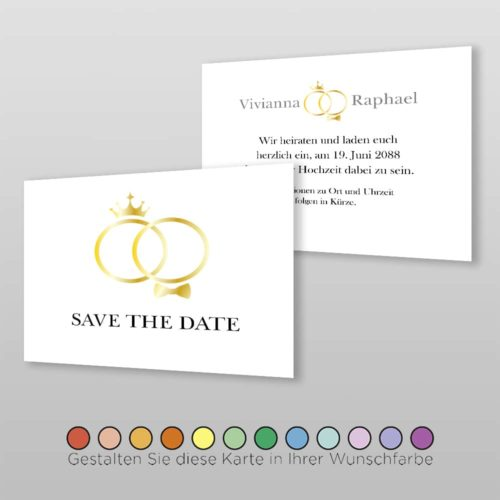 Save the Date A6q 2S Kate