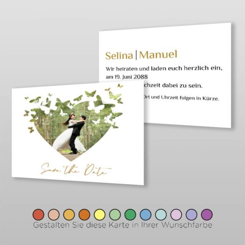 Save the Date A6q 2S Selina