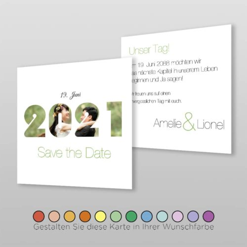 Save the Date Q 2S Amelie