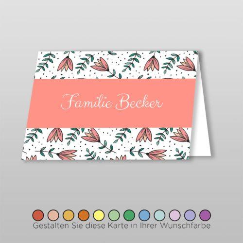 Tischkarte Amber (1)