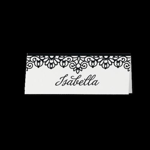 Tischkarte Lisette
