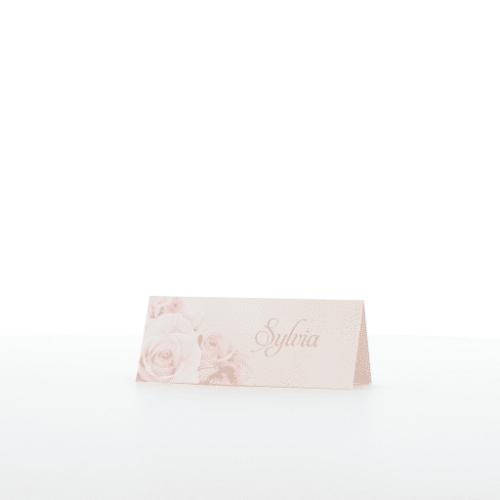 Tischkarte Rosalia