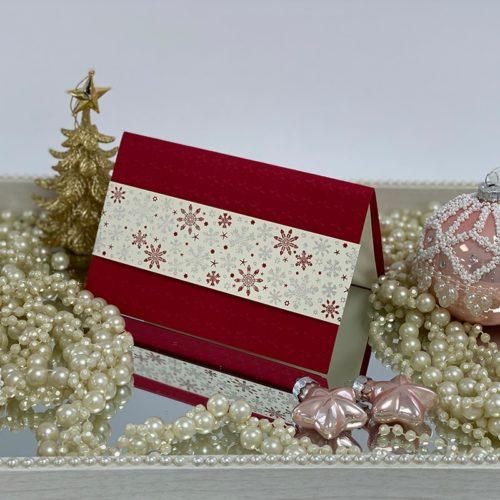 Weihnachtskarte Ribona