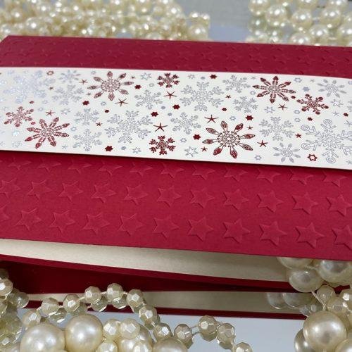 Weihnachtskarte Ribona detail