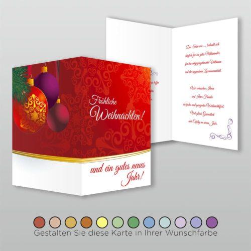 Weihnachtskarte A6h 4s Tala
