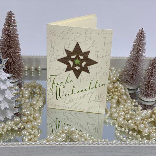 Weihnachtskarte Gina 01