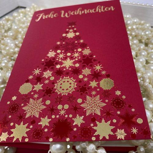 Weihnachtskarte Oni 02