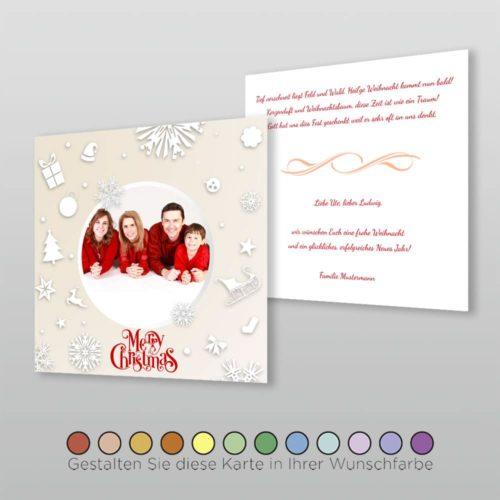 Weihnachtskarte Q 2s Marybelle