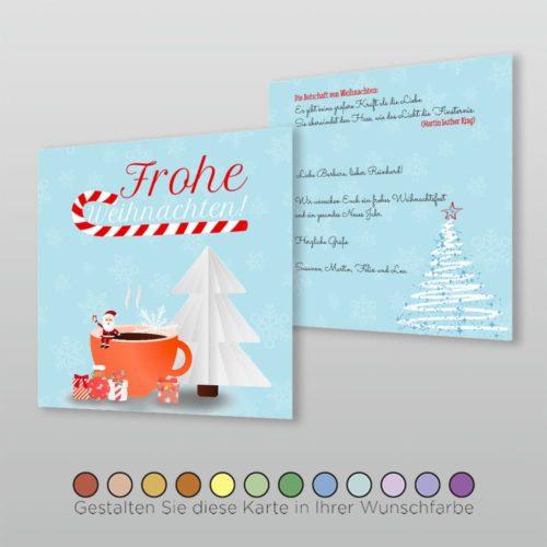 Weihnachtskarte Q 2s Nova