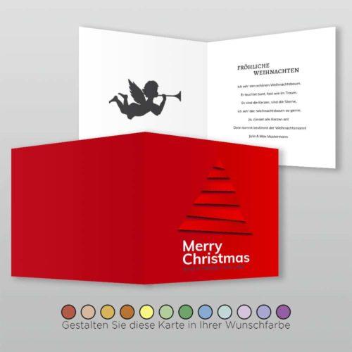 Weihnachtskarte Q 4s Cassy