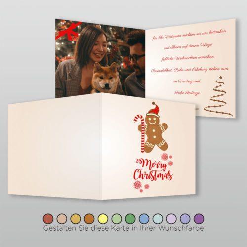 Weihnachtskarte Q 4s Honna